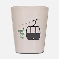 Snowsports_Lift_Lines_Green Shot Glass