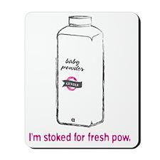 Snowsports_PowPow_Pink Mousepad