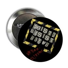 Exist to Resist Button