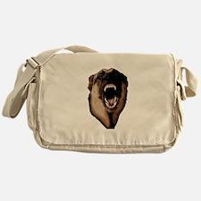 CK9D with dog (dark) FRONT AND BACK  Messenger Bag