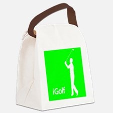 iGolf.eps Canvas Lunch Bag
