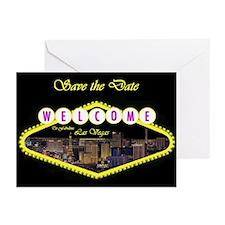 Las Vegas Strip Sign Logo Cards pkg 6
