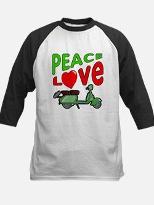 Peace Love Motor Scooter Tee