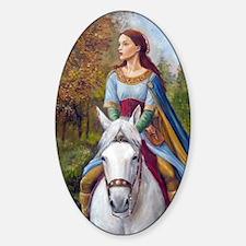 DSCN3261 marian up port Sticker (Oval)