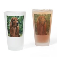 Irish_Setter_M Drinking Glass