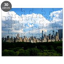 New York Skyline Above Central Park Puzzle