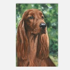 Irish_Setter_M1 Postcards (Package of 8)