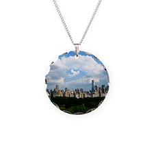 New York Skyline Above Centr Necklace