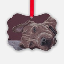 DogTired Ornament