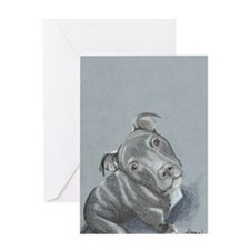 pitbull-7 Greeting Card