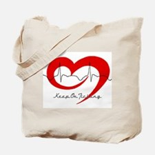 Heart Health - Keep On Tickin Tote Bag