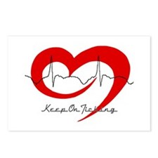 Heart Health - Keep On Tickin Postcards (Package o