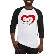 Heart Health - Keep On Tickin Baseball Jersey