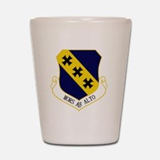 7th Bomb Wing - Mors Ab Alto Shot Glass