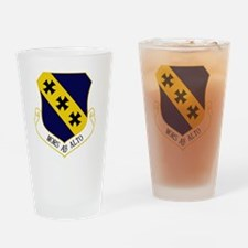 7th Bomb Wing - Mors Ab Alto Drinking Glass