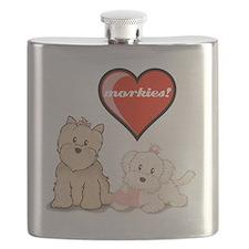 teddy-bear-tshirt Flask