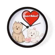 teddy-bear-tshirt Wall Clock