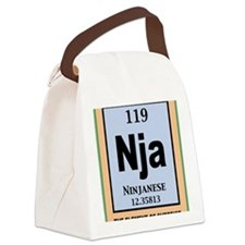 ninjanium-CRD Canvas Lunch Bag