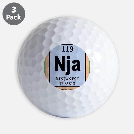 ninjanium-STKR Golf Ball
