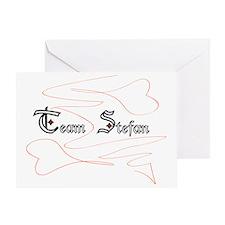 TeamStefan Greeting Card