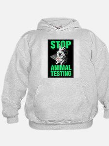 STOP ANIMAL TESTING Hoodie