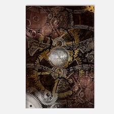 Steampunk Clockwork 2 Postcards (Package of 8)