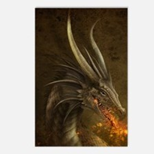 Green Dragon Postcards (Package of 8)