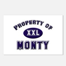 Property of monty Postcards (Package of 8)