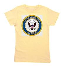 USNR-Navy-Reserve-Emblem Girl's Tee