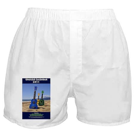 Ukulele Calendar 2011 cover Boxer Shorts