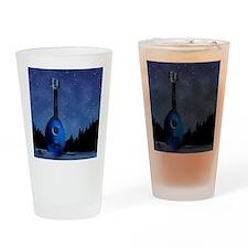 Camp Flea Ukulele Drinking Glass
