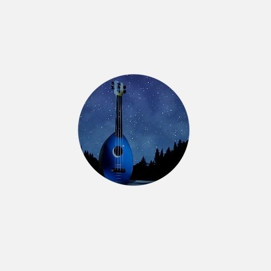 Camp Flea Ukulele Mini Button