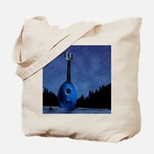 Camp Flea Ukulele Tote Bag
