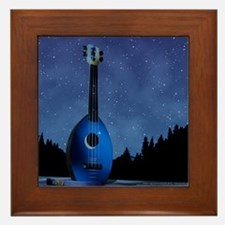 Camp Flea Ukulele Framed Tile