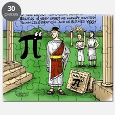 Pi_48 Caesar Ides of March (7.5x4.5 Color) Puzzle