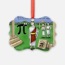 Pi_48 Caesar Ides of March (7.5x4 Ornament
