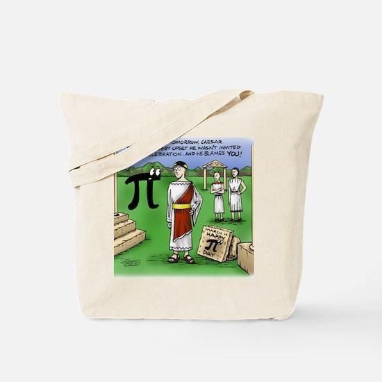 Pi_48 Caesar Ides of March (17.5x11.5 Col Tote Bag