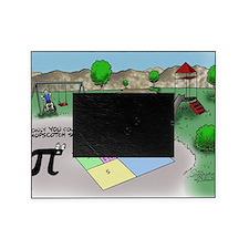 Pi_65 Fibonacci Hopscotch (10x10 Col Picture Frame