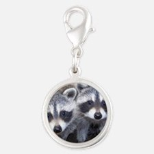 cp calendar gerry  ll baby pic Silver Round Charm