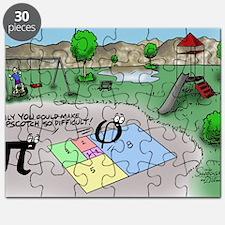 Pi_65 Fibonacci Hopscotch (17.5x11.5 Color) Puzzle