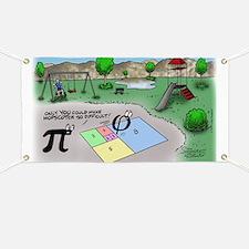 Pi_65 Fibonacci Hopscotch (17.5x11.5 Color) Banner