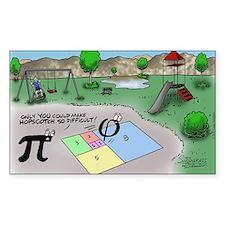 Pi_65 Fibonacci Hopscotch (17. Decal