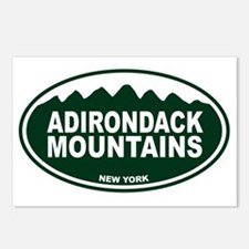 Adirondack Mountains Oval Postcards (Package of 8)