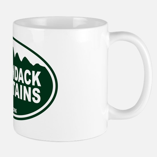 Adirondack Mountains Oval Mug