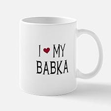 I Love My Babka Mug