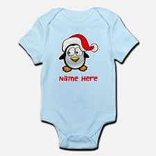 Penguin Santa Body Suit