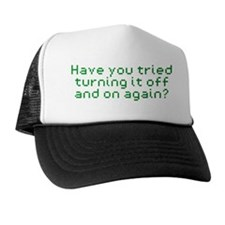 it-crowd-cap Trucker Hat