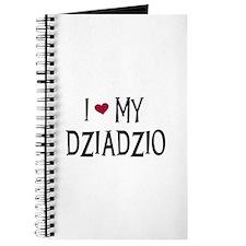 I Love My Dziadzio Journal