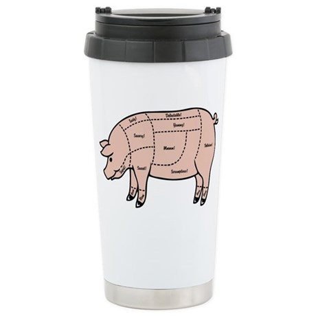 pig-cuts2-T Stainless Steel Travel Mug