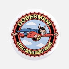 """doberman-T 3.5"""" Button"""